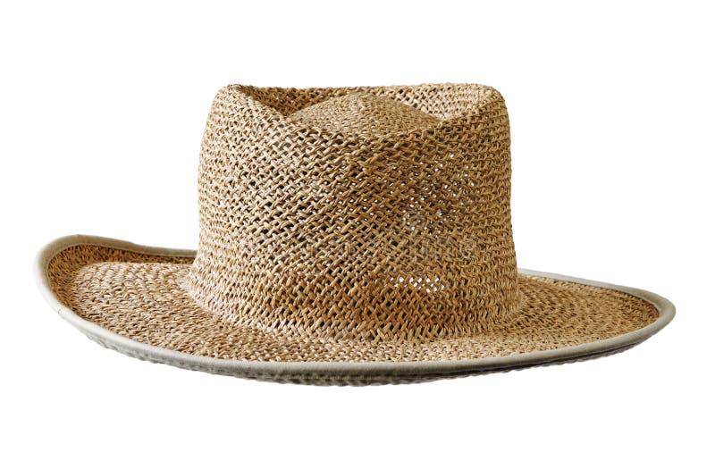 Chapéu do sol da palha foto de stock