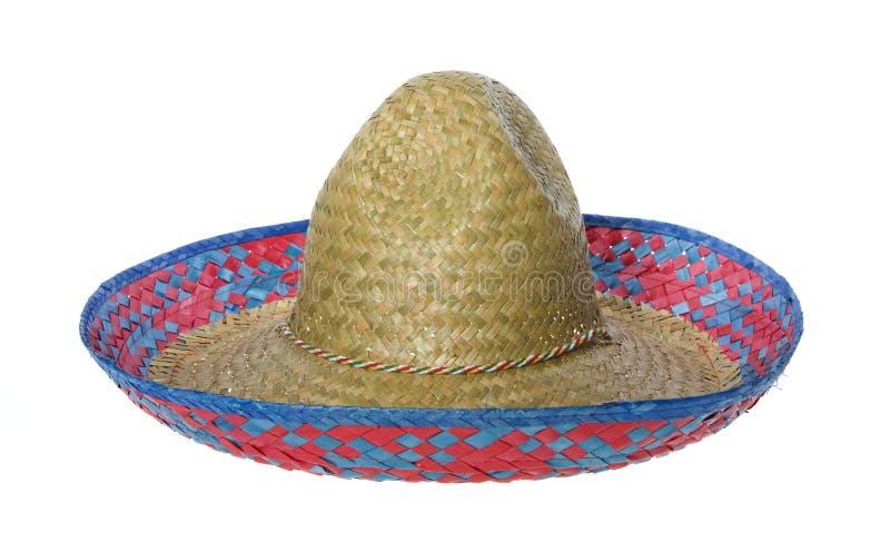 Chapéu do Sombrero isolado fotografia de stock royalty free