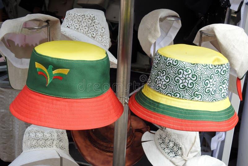 Chapéu do verão para a venda imagem de stock