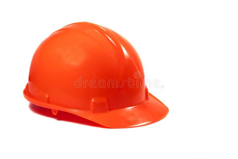 Chapéu duro vermelho foto de stock