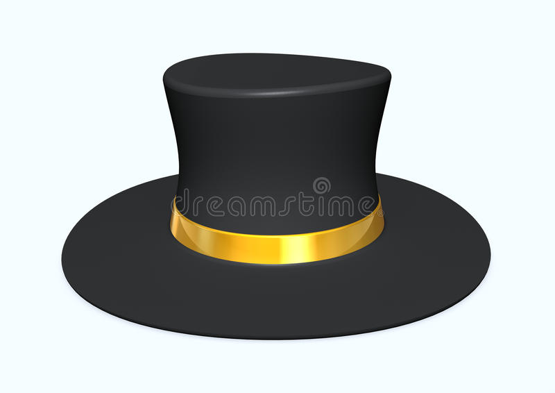 Chapéu mágico ilustração stock