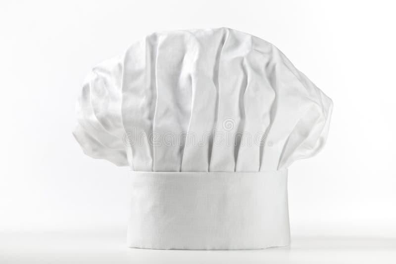 Chapéu ou toque do cozinheiro chefe imagens de stock