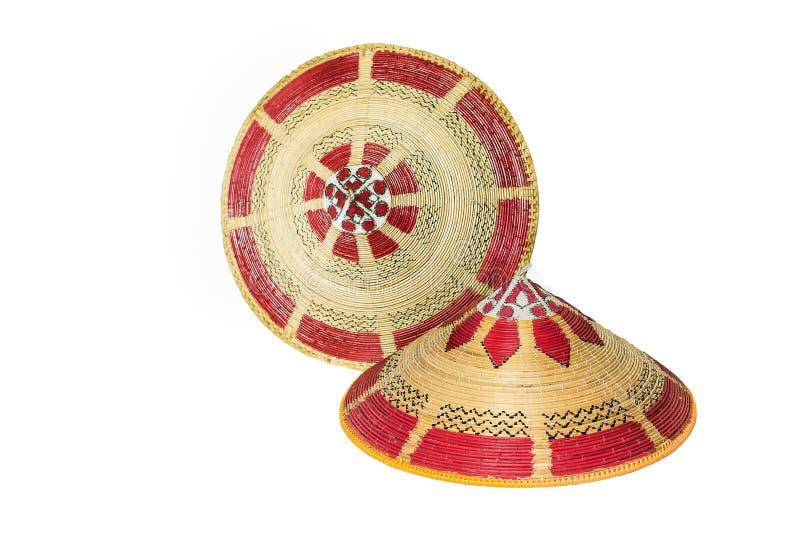 Chapéu tradicional de Bornéu. imagem de stock royalty free