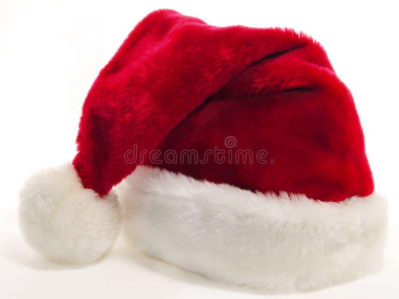 Chapéu v2 de Santa imagens de stock