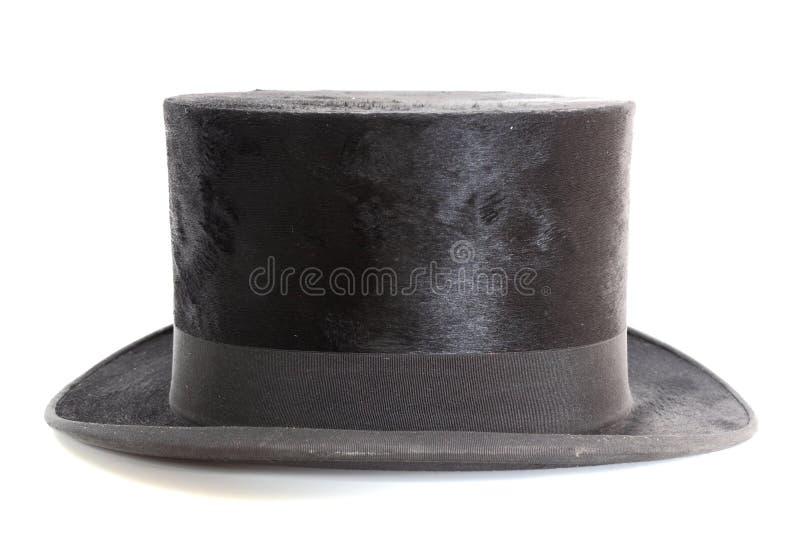 Chapéu velho do chapéu de coco foto de stock