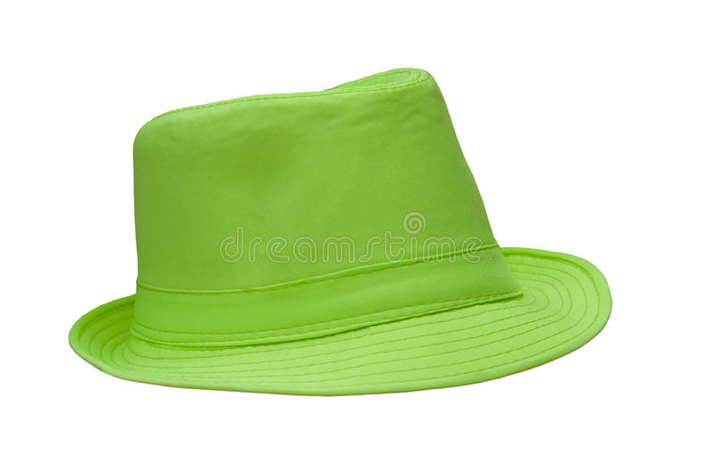Chapéu verde foto de stock