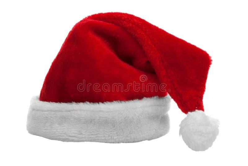 Chapéu vermelho de Papai Noel foto de stock royalty free