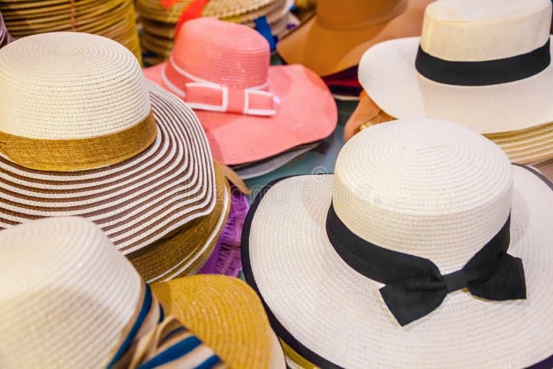 Download Chapéus do verão foto de stock. Imagem de tampão, clássico - 80100558