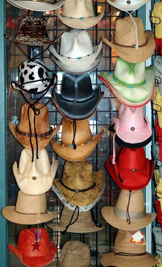 Chapéus para a venda fotos de stock