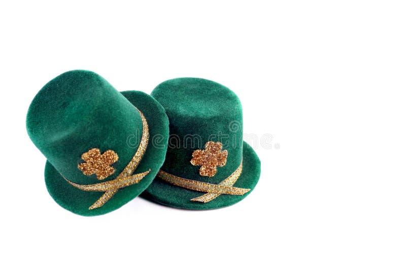 Chapéus Superiores Do Dia Do St. Patricks Imagens de Stock