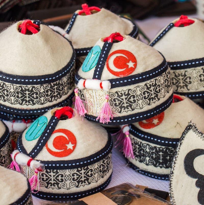 Chap?u turco tradicional na vista fotos de stock royalty free
