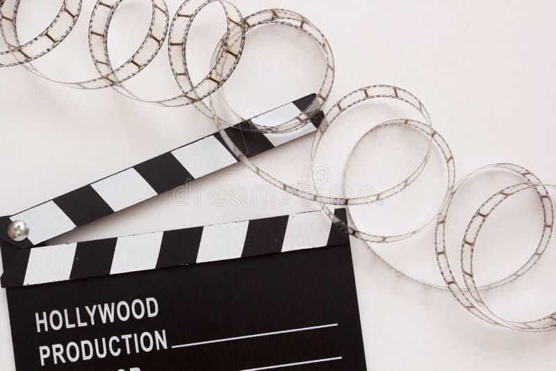 Chapaleta para la película imagen de archivo libre de regalías