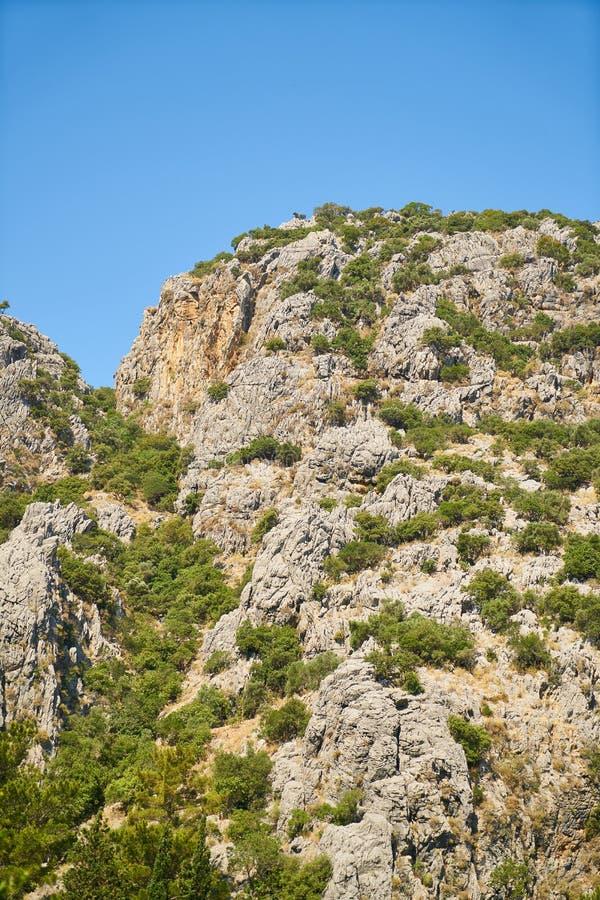 Chaparral, Vegetation, Sky, Rock stock images