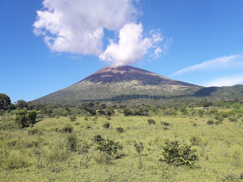 Chaparrastique de Volcan foto de stock royalty free