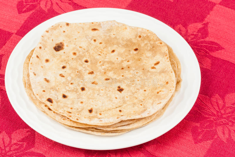 Chapati imagen de archivo