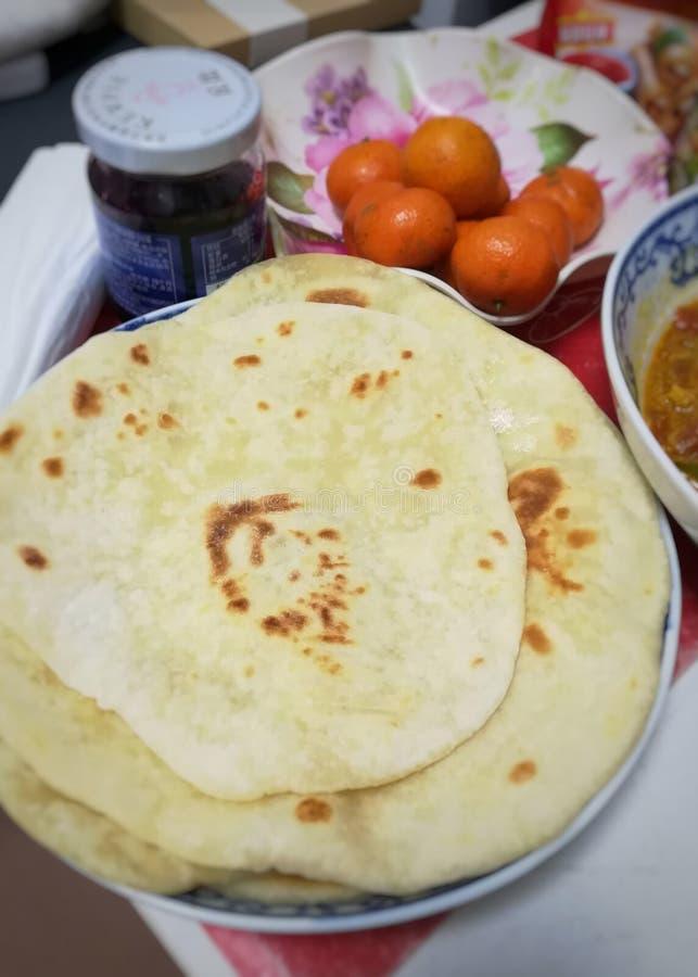chapati royalty-vrije stock afbeeldingen