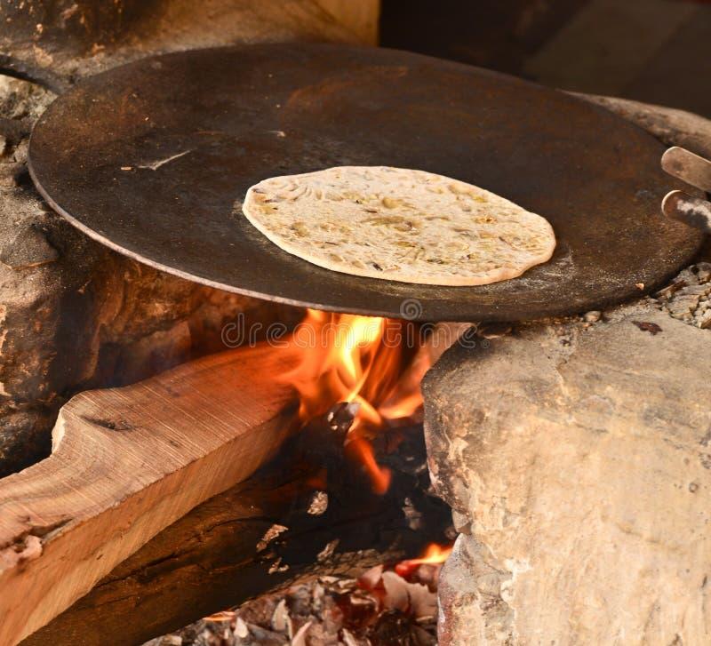 Chapati indio fotos de archivo