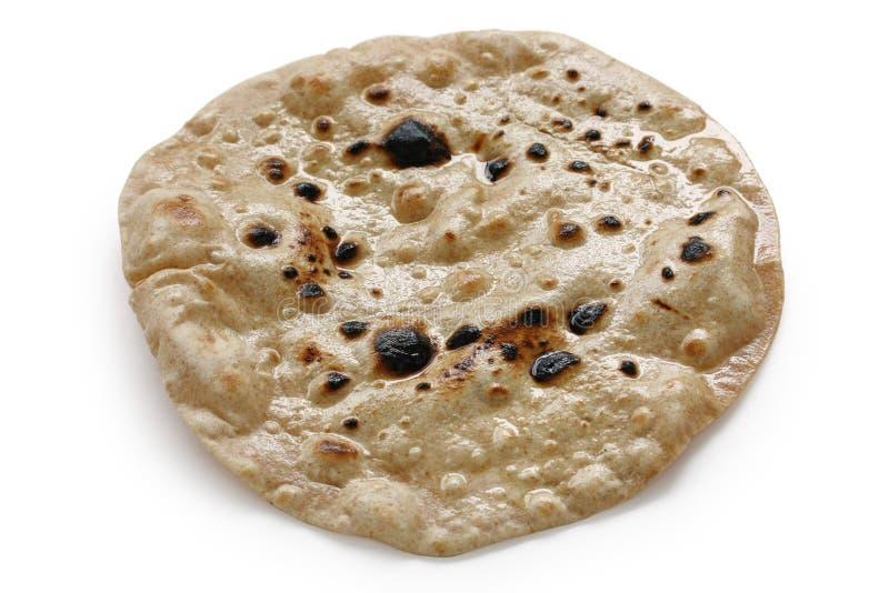 Chapati, pan indio plano imagen de archivo libre de regalías