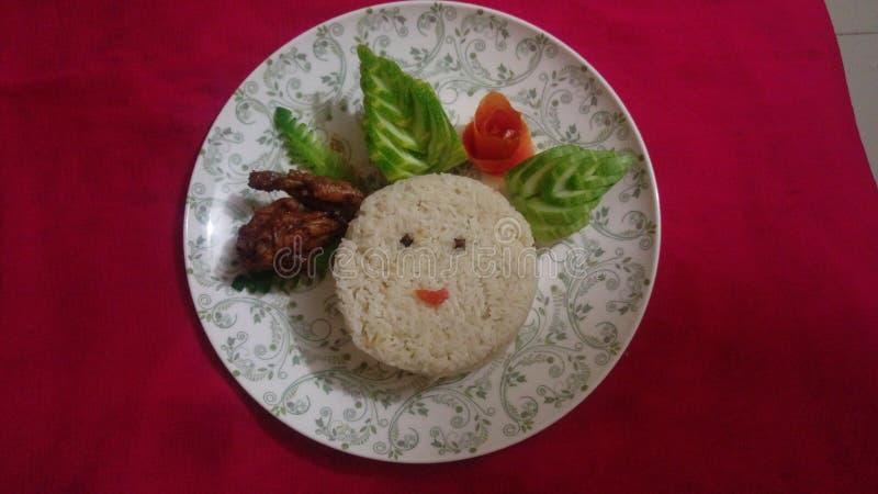Chapeamento do arroz fotografia de stock royalty free