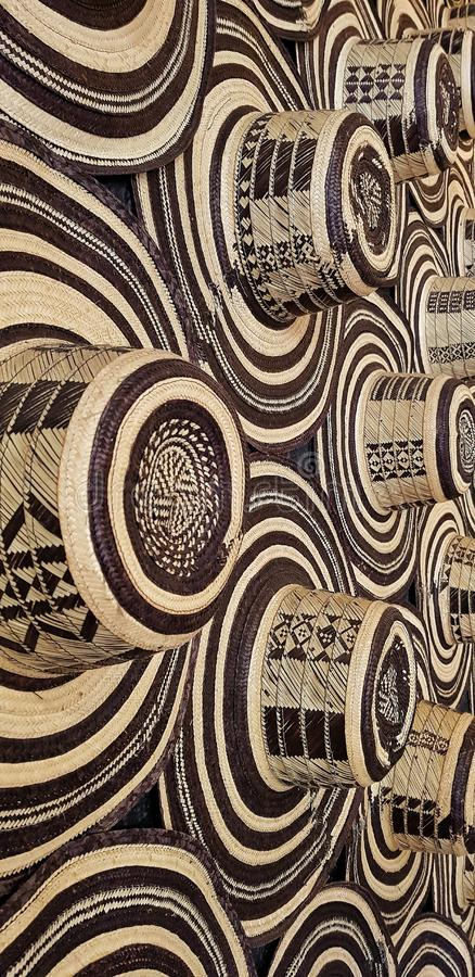 Chapeau assez colombien Typique handcraft image libre de droits