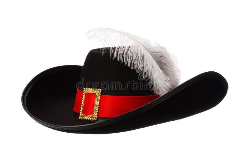 Chapeau avec la clavette images stock