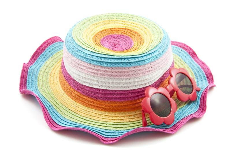 Chapeau coloré photographie stock libre de droits