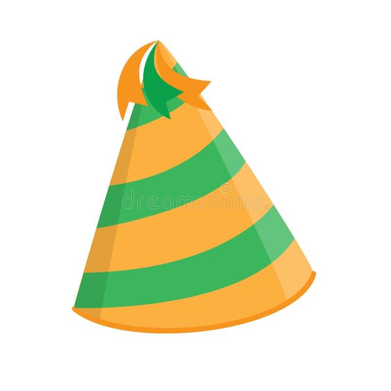Chapeau d'anniversaire illustration libre de droits
