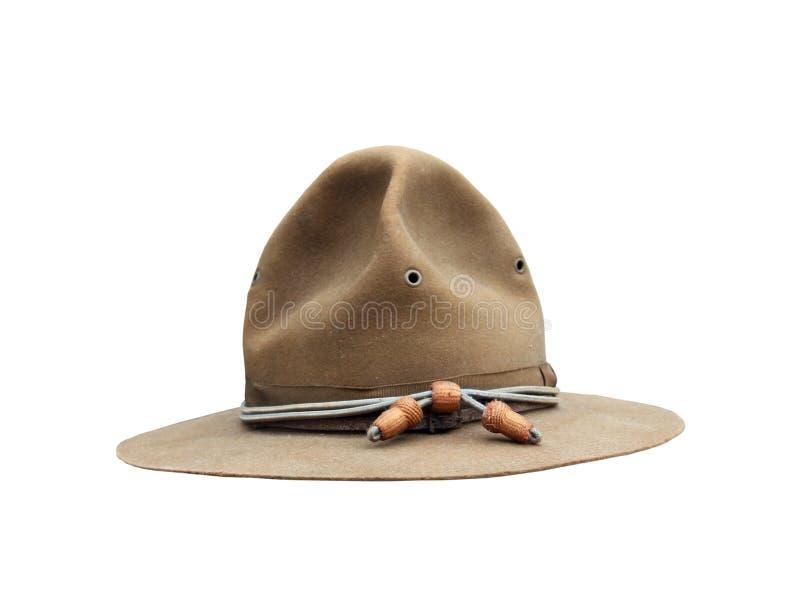 Chapeau d'armée de Première Guerre Mondiale photographie stock