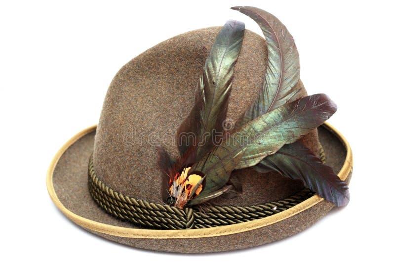 Chapeau d'Oktoberfest photographie stock