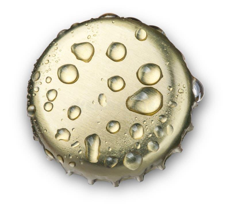 Chapeau de bouteille à bière photographie stock libre de droits