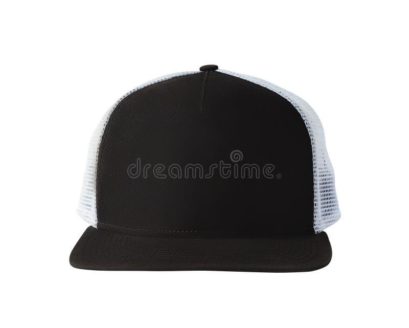 Chapeau de casquette de baseball ou de camionneur images stock