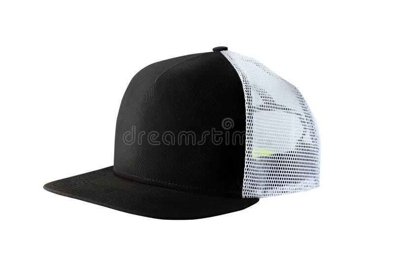 Chapeau de casquette de baseball ou de camionneur images libres de droits