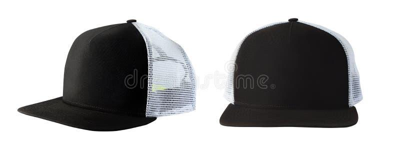 Chapeau de casquette de baseball ou de camionneur photographie stock