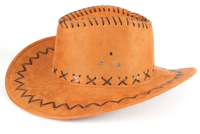 Chapeau de cowboy de Brown photographie stock