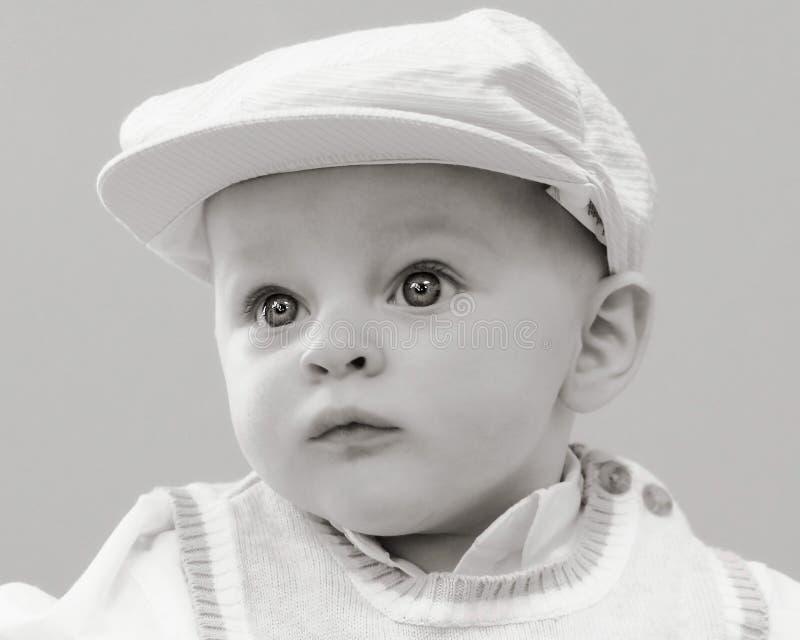 Chapeau de golfeur de bébé images libres de droits