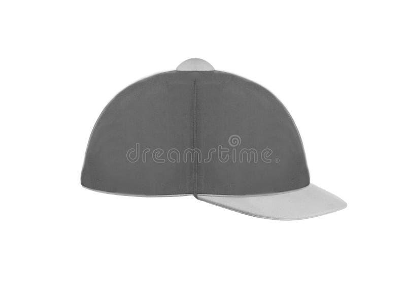 Chapeau de jockey d'isolement photos stock