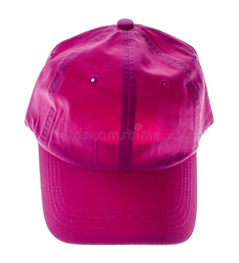 Chapeau de jockey sur le blanc photo stock