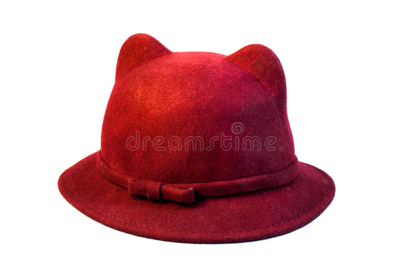 Chapeau de Kitty photographie stock libre de droits
