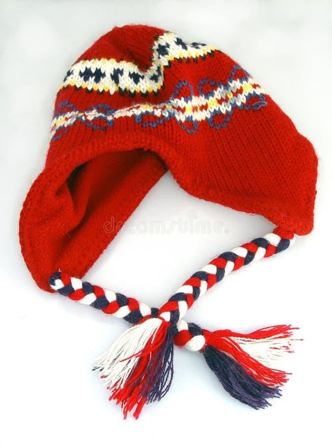 Chapeau de laine photographie stock