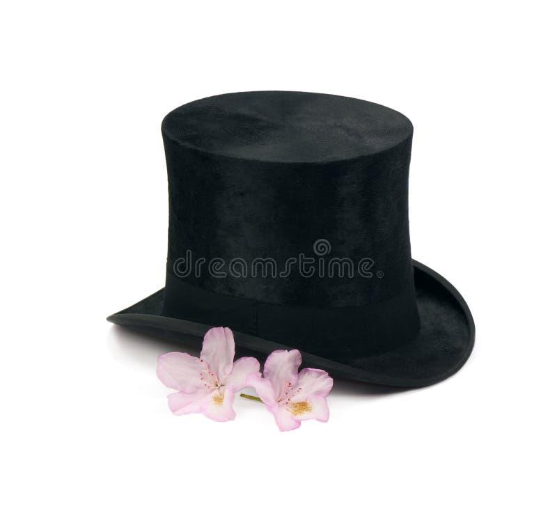 Chapeau de magicien photo stock