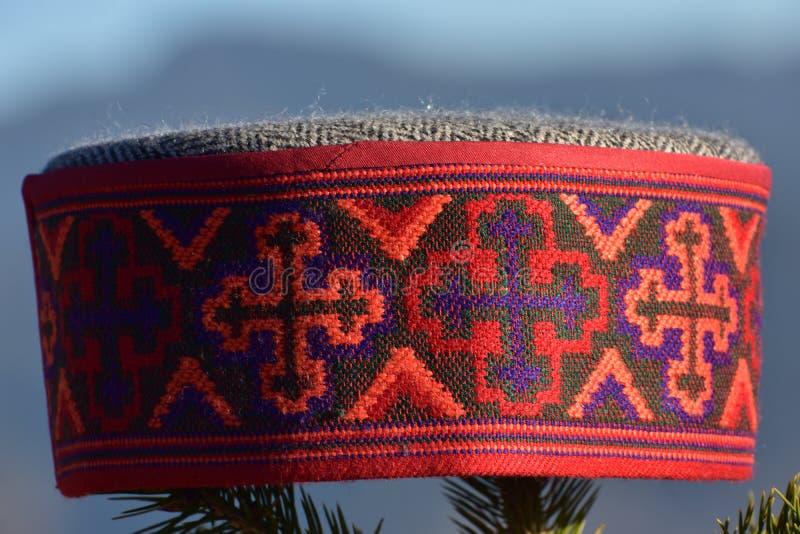 Chapeau de manali de kullu de chapeau de culture de Himachal photographie stock