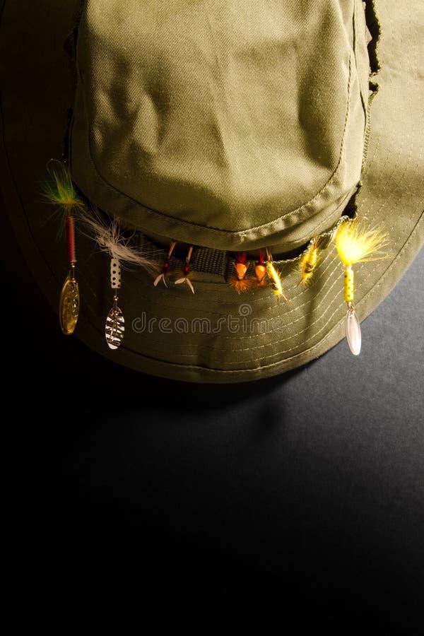 Chapeau de pêche photo stock