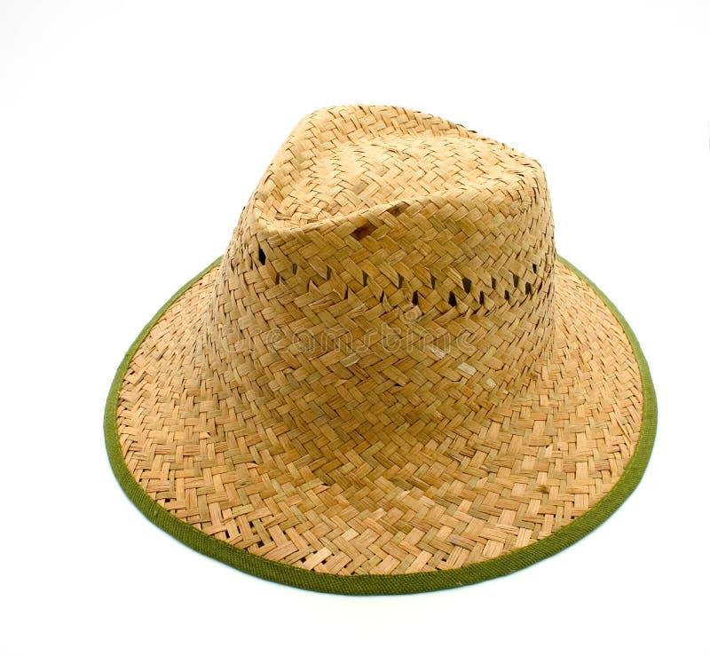 Download Chapeau de paille image stock. Image du extérieur, vert - 743235