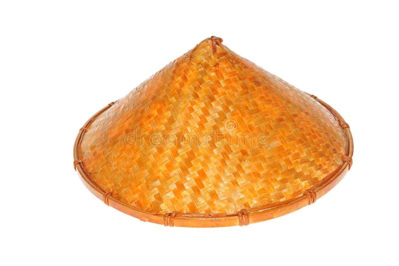 Chapeau de paille conique image libre de droits