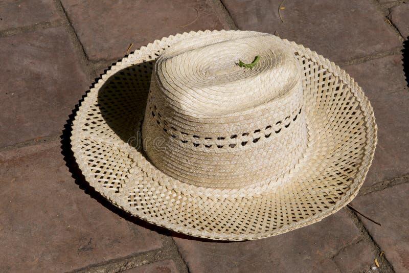 Chapeau de paille - souvenirs - Trinidad Cuba photos libres de droits
