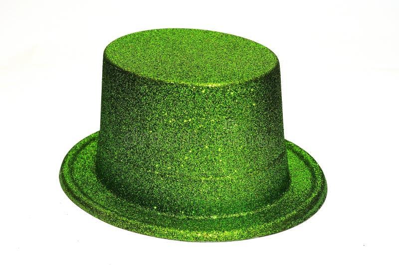 Chapeau de Parti Vert photographie stock