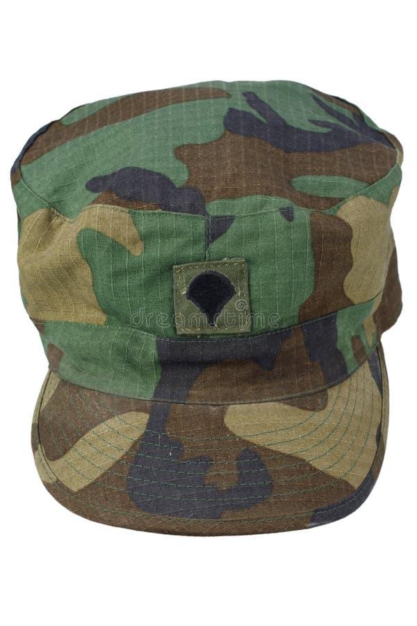 Chapeau de patrouille de l'armée américaine photographie stock libre de droits