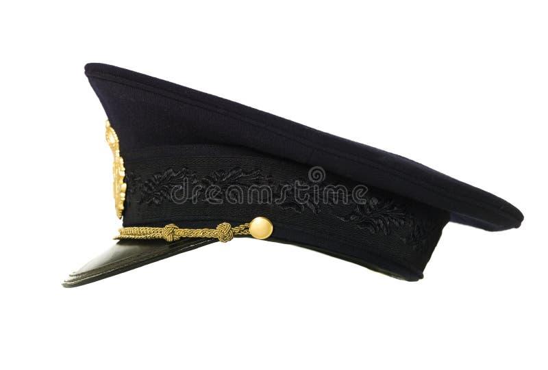 Chapeau de police photographie stock libre de droits
