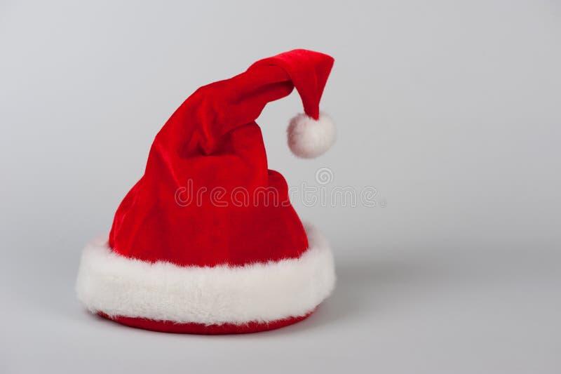 Chapeau de rouge de Santa Claus photo stock