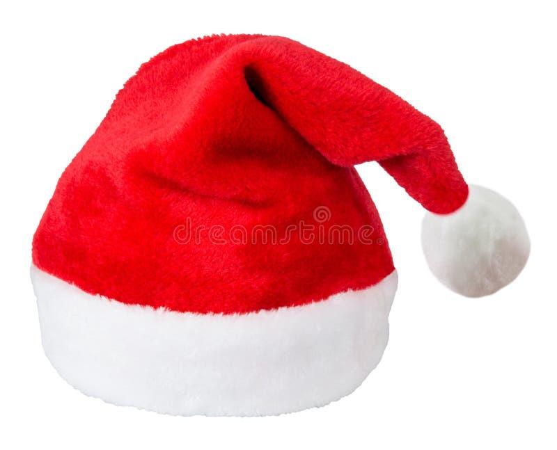 Chapeau de rouge du père noël photo stock